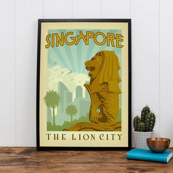 Singapore Print