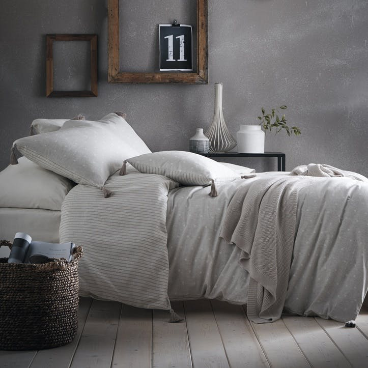 Avebury Bedding Set, Double, Linen