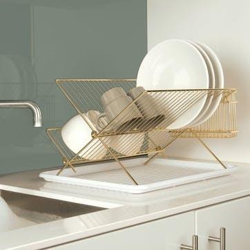 Dish Rack, Gold