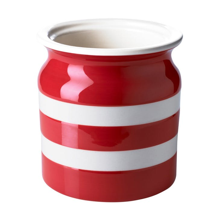 Utensils Jar, 30oz/84cl, Red
