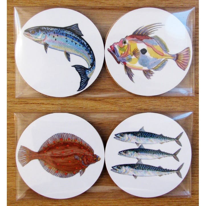 Sea Fish Coaster Gift Pack
