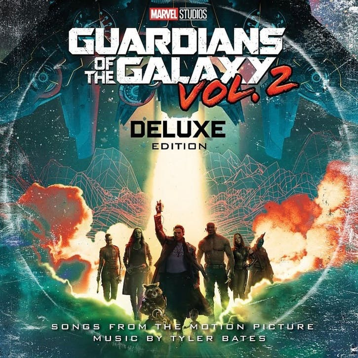 "Guardians of the Galaxy Vol. 2 Original Soundtrack 12"" Vinyl"