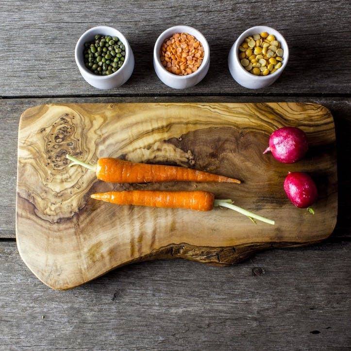 Wooden Serving Board - 30cm