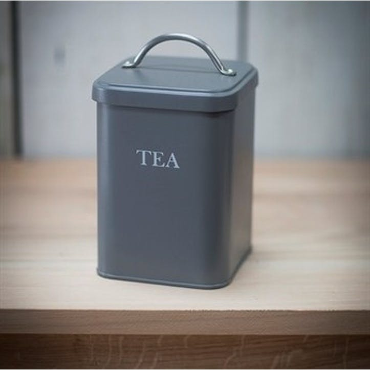 Charcoal Tea Canister