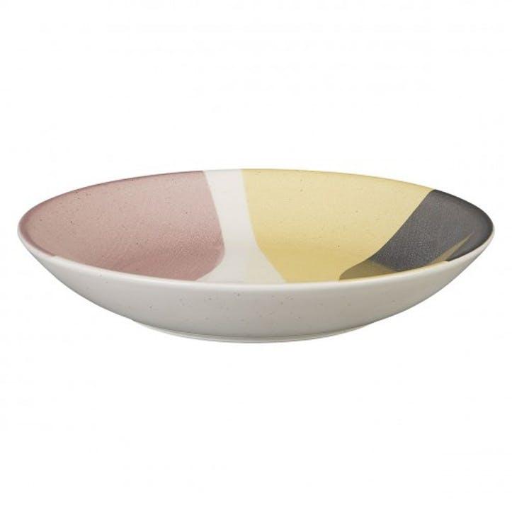 Clara Pasta Bowl, Pink