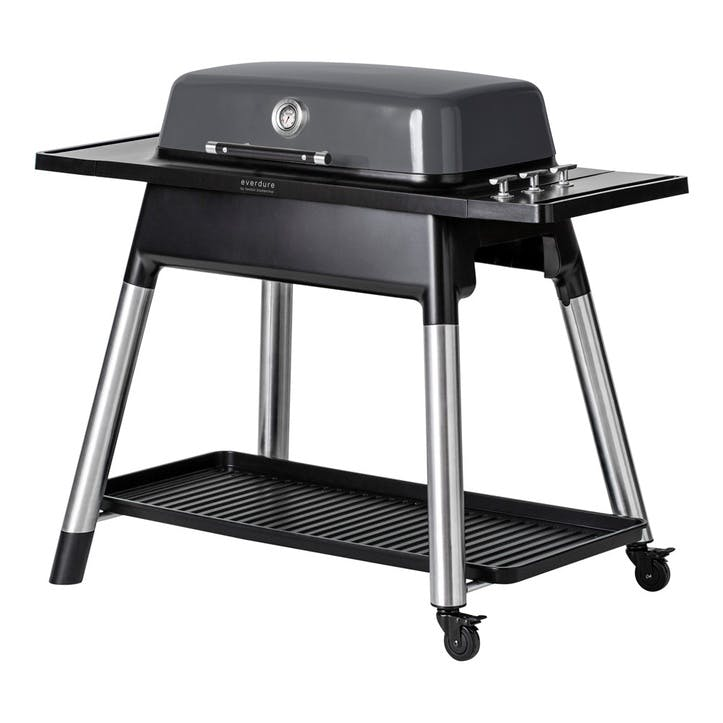 Furnace Gas Barbeque With Stand, Graphite