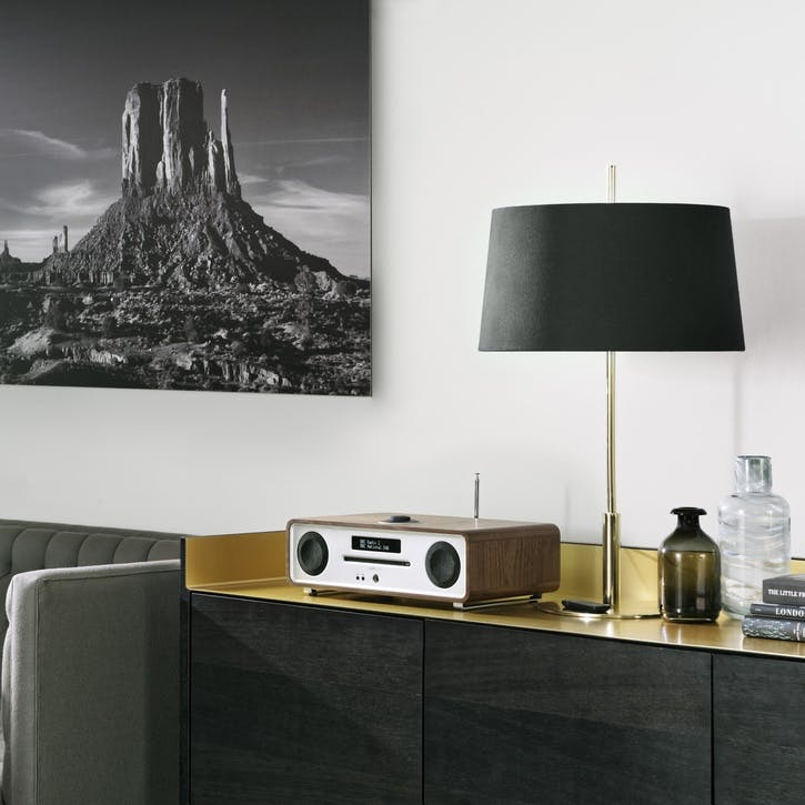 R4 Mk3 Integrated Music System; Walnut