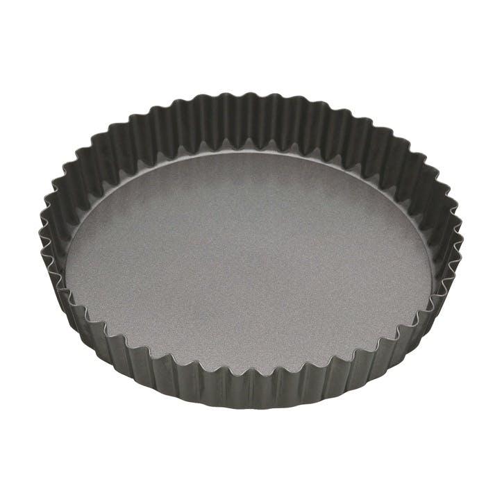 Non-Stick 25cm Loose Base Fluted Quiche Tin