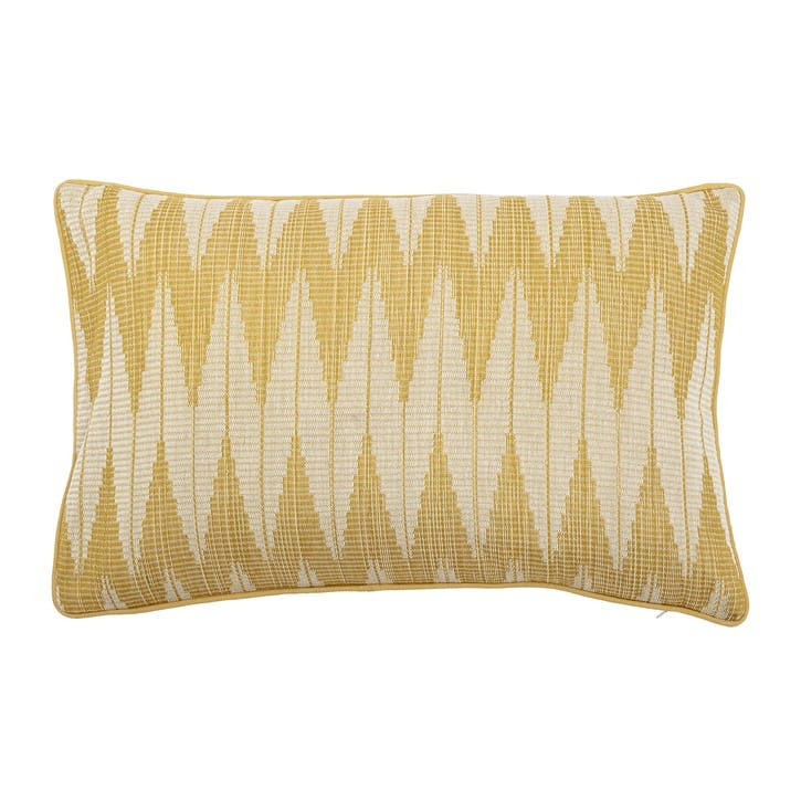 ZigZag Cushion, Yellow