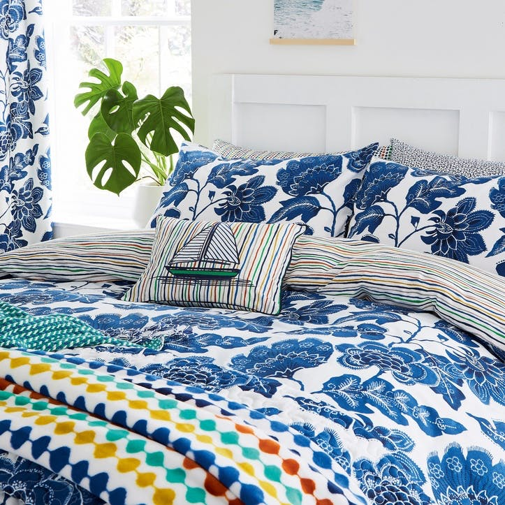 Paloma Super-King Bedding Set, Nautical