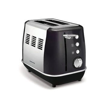 Evoke 2 Slice Toaster; Black