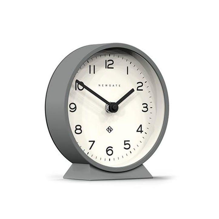 M Mantel Echo Clock, Posh Grey