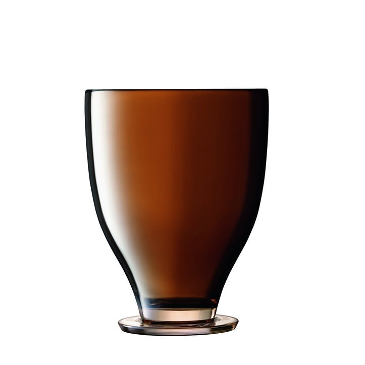 Époque, Champagne Bucket, H26cm, Amber/Lustre