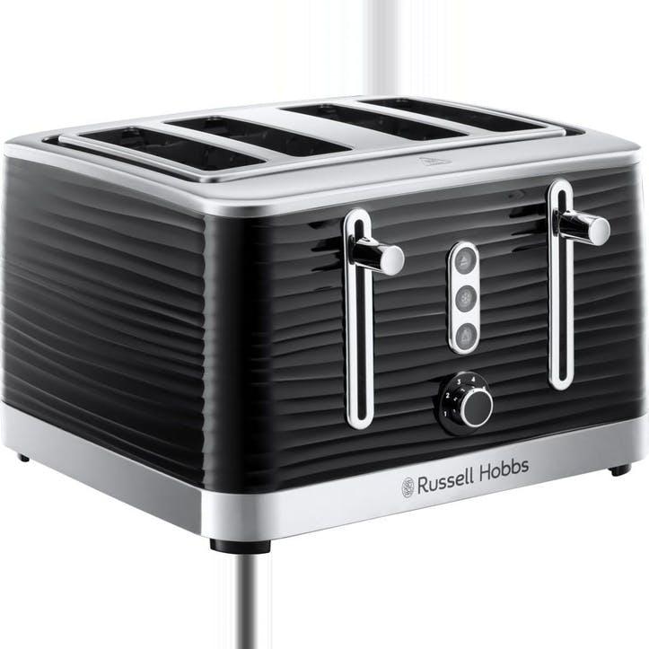Inspire 4 Slice Toaster; Black
