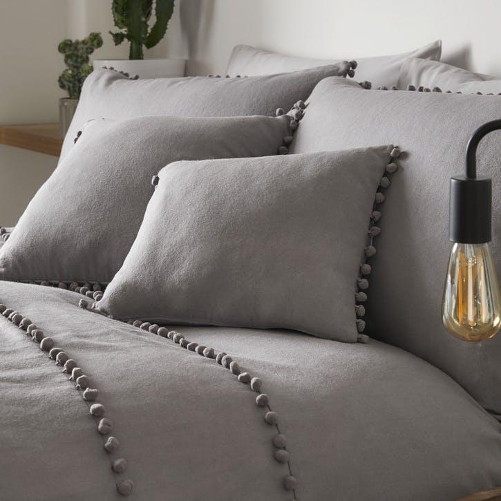 Paignton Cushion Cover, 30 x 40cm, Slate