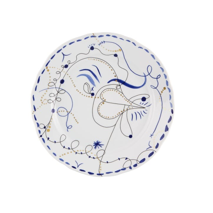 Folkifunki Dinner Plate