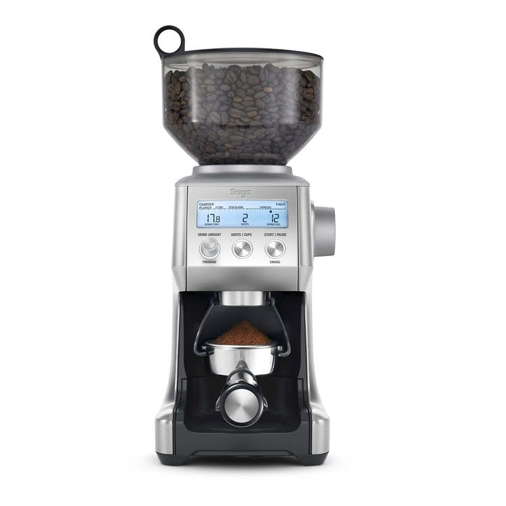 The Smart Grinder Pro Coffee Grinder, Steel