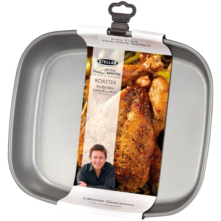 James Martin Bakers Dozen Roaster; 29 x 25 x 5cm