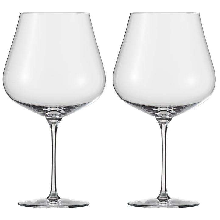 Air Burgundy Wine Glasses, Set of 2