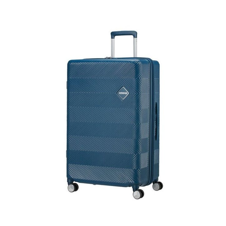 Flylife Spinner Suitcase, 77cm, Petrol Blue
