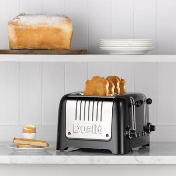 Lite Toaster, 4 Slot; Black