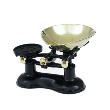 Traditional Cast Iron Scales, Black
