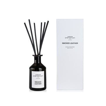 Smoked Leather Luxury Diffuser, 200ml