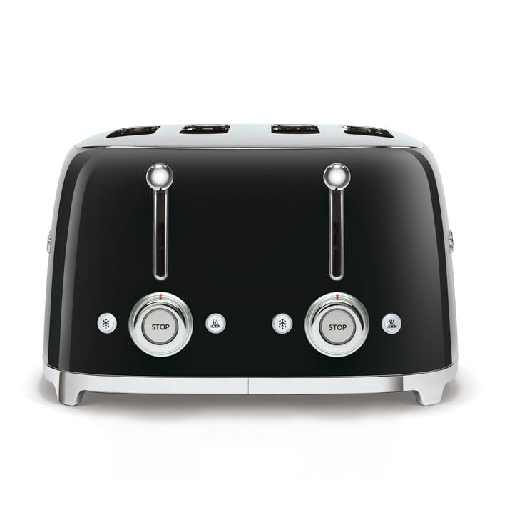 4 By 4 Toaster, Black
