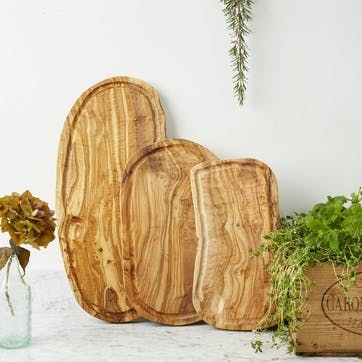 Carving Board with Groove, Small