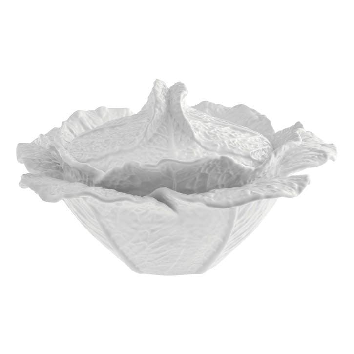 Cabbage Tureen, 2 Litre, Beige