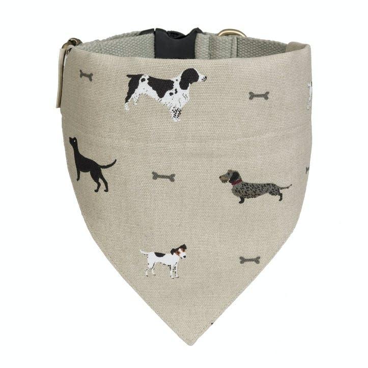'Woof' Neckerchief Collar - Large