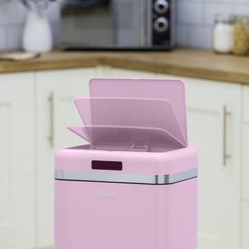 Retro Sensor Bin, Pink