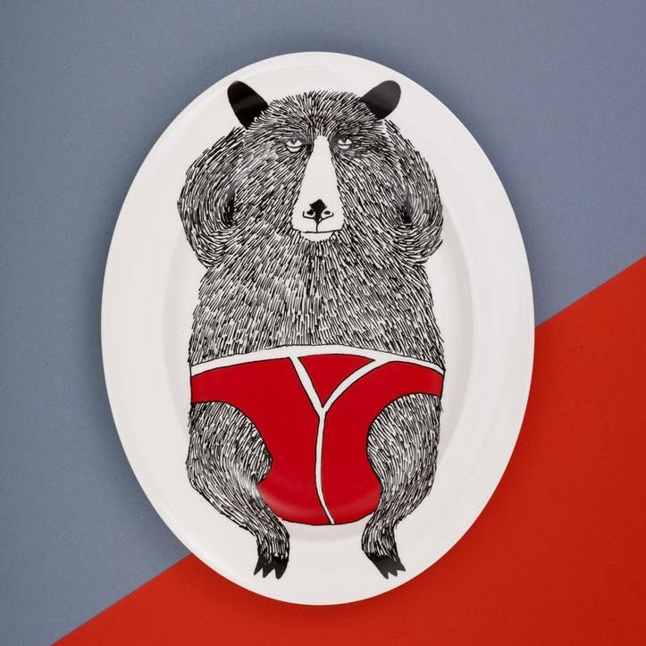 'Mr Bear' Serving Platter