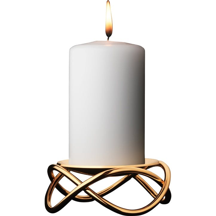 Glow Candleholder, Gold