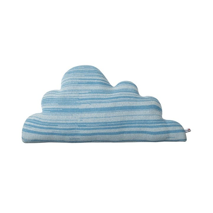Cloud Cushion, Medium, Blue