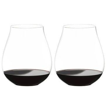 "Big ""O"" Pinot Noir Glass, Set of 2"