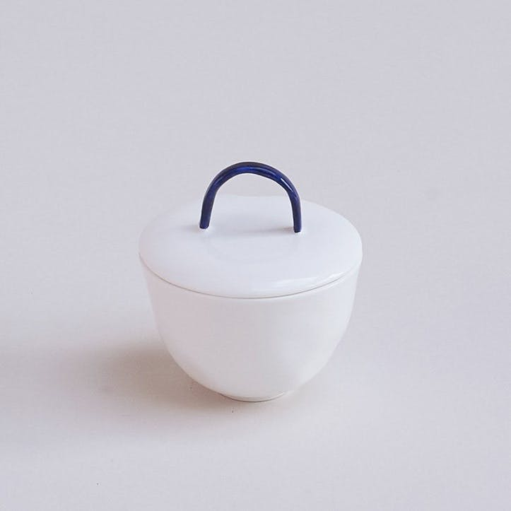 Cobalt Sugar Bowl