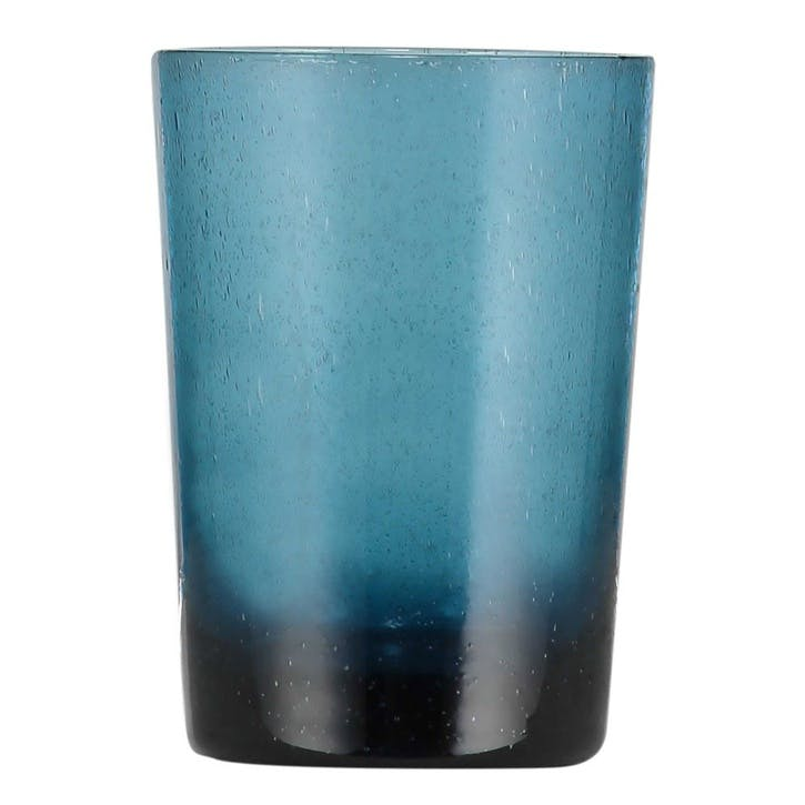 Tumblers, Set of 6, 340ml, Mineral Blue