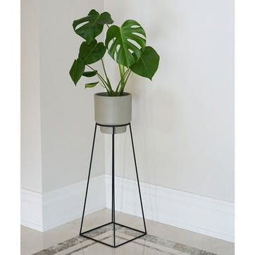 Minimo, Plant Stand, Large, Black
