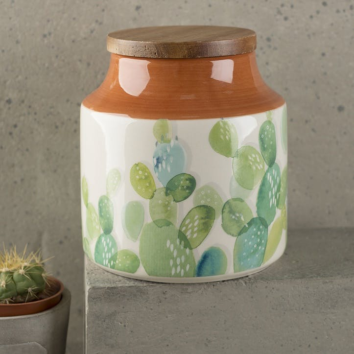 Drift Cactus Storage Jar
