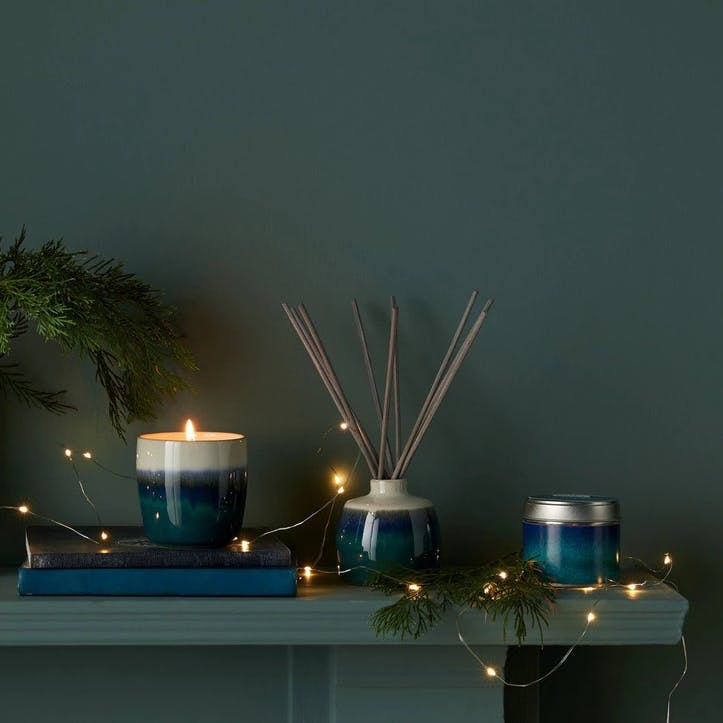 Home Fragrance Statements Candle Tin Green