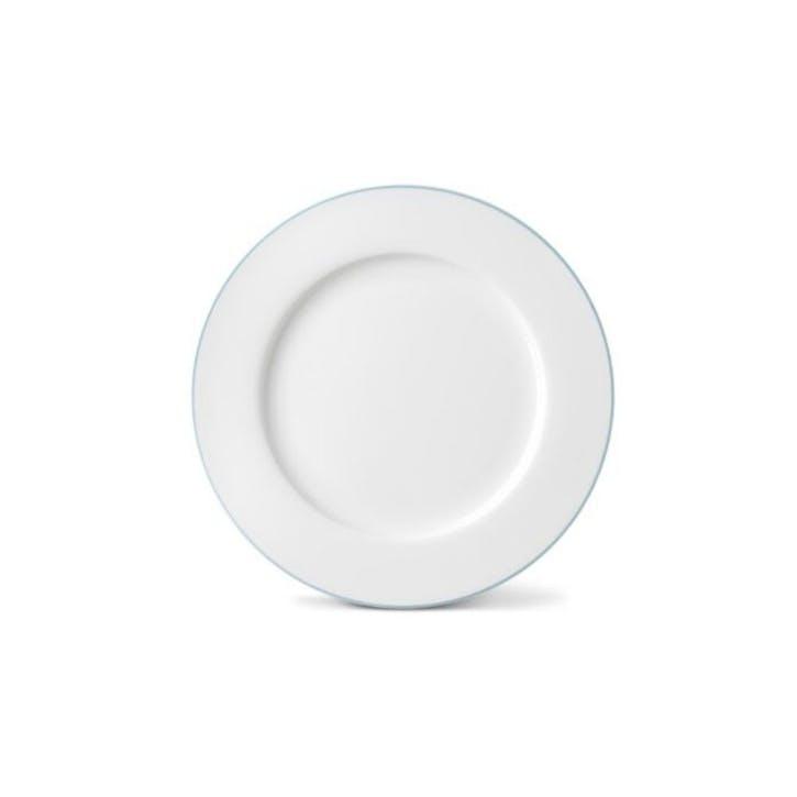 Rainbow Dinner Plate, Aqua