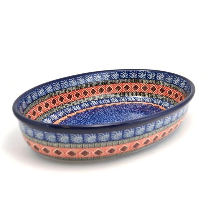 Marocco Oval Dish, 27cm