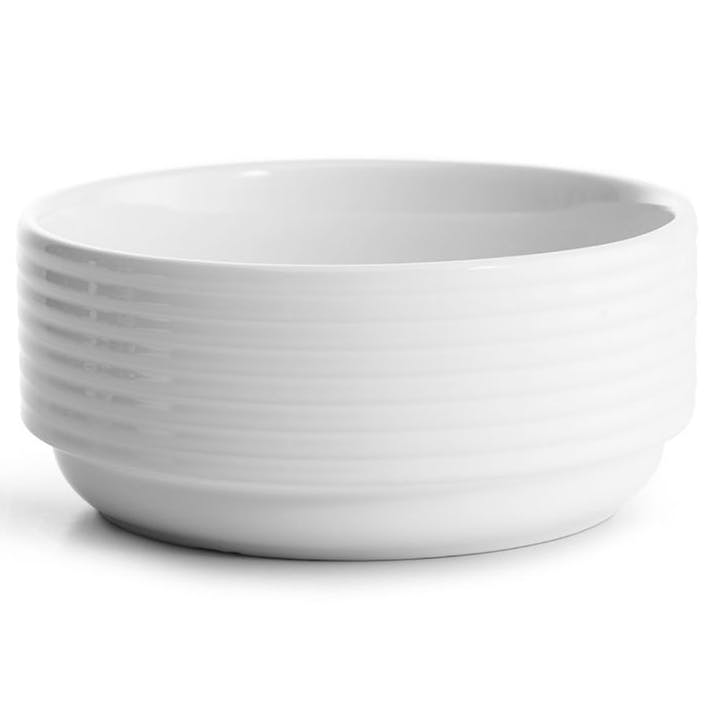 Coffee & More, Deep Bowl, 17cm, White