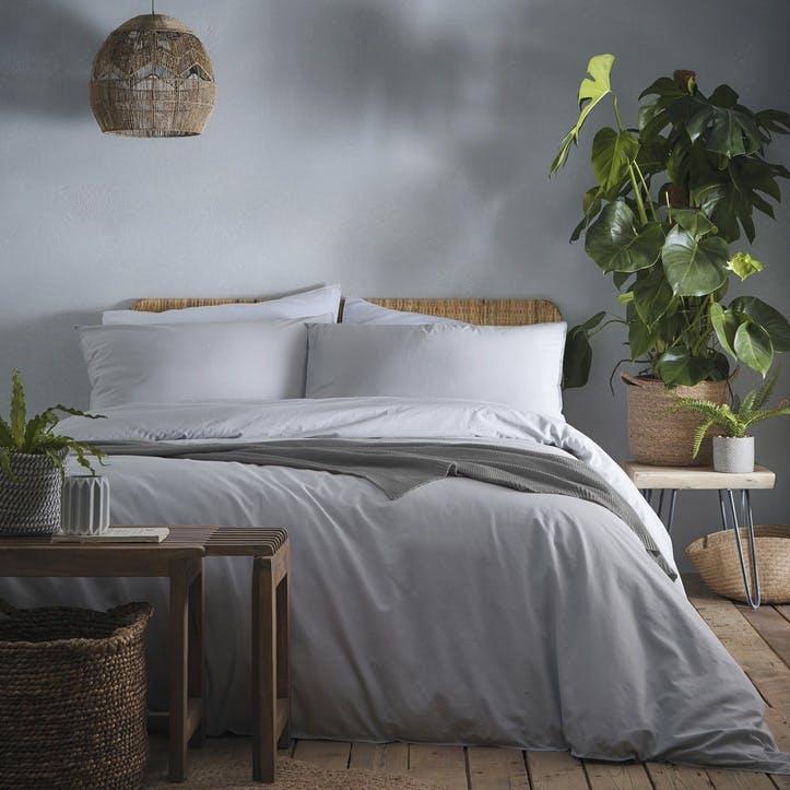Savannah Bedding Set, Double, Silver