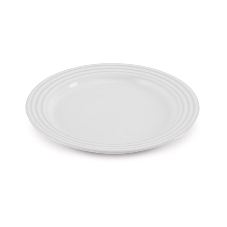 Side Plate - 22cm; White