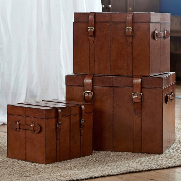 Leather Trunk, Medium