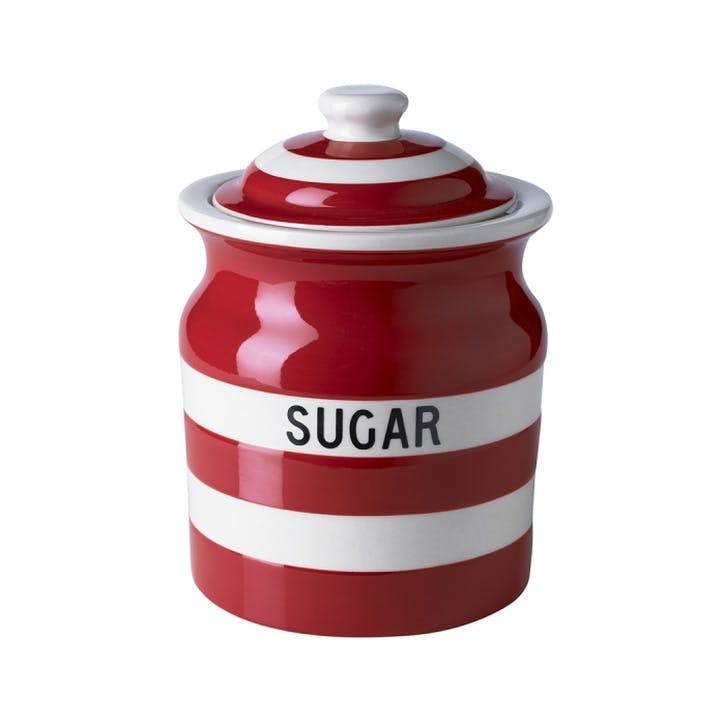 Sugar Storage Jar, 30oz/84cl, Red