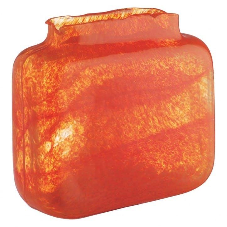 Tangelo Bubble Glass Vase