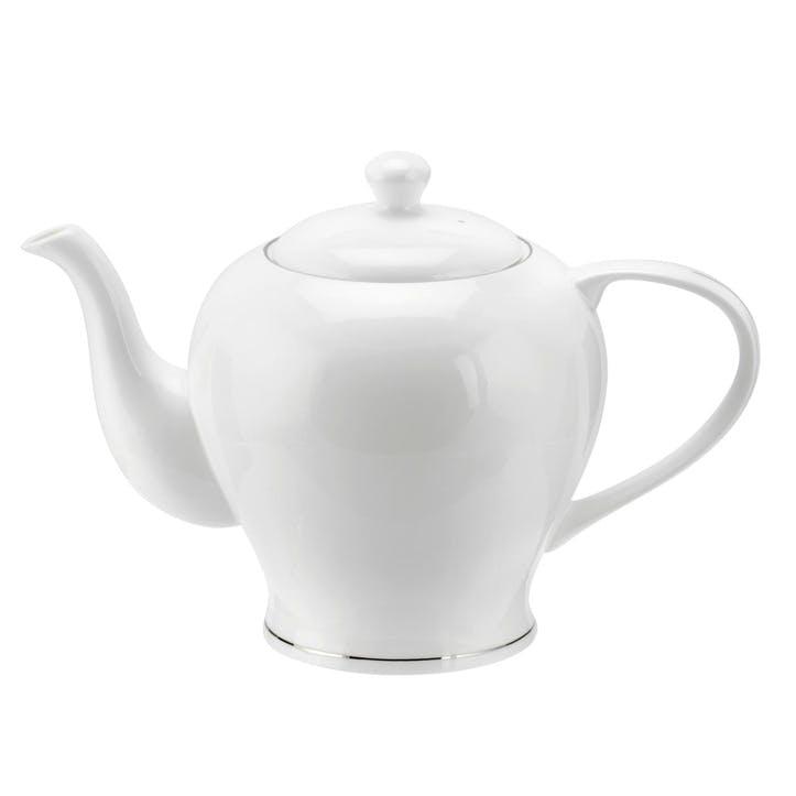 Serendipity Teapot - 1.1L; Platinum